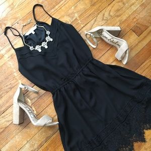 Cupcakes and Cashmere lace trimmed cocktail dress